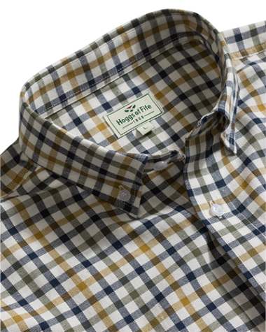 Hoggs of Fife Trevose Short Sleeve Shirt