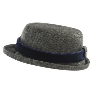 Jack Murphy Lexington Tweed Hat (Winter Rust Herringbone)