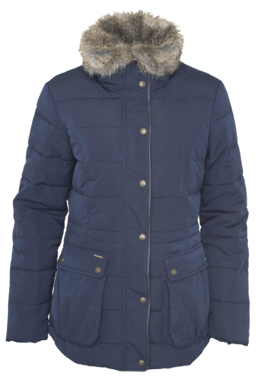 Toggi Asby Ladies Padded Coat (Midnight Blue) - size 8