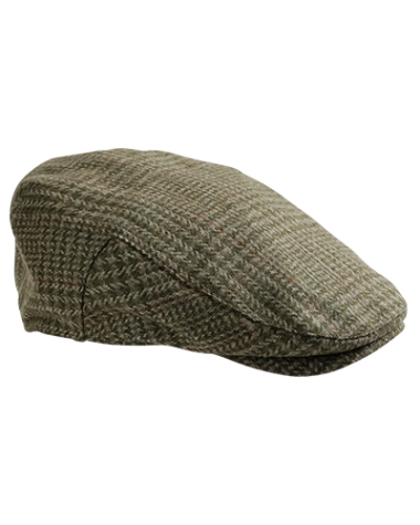 Hoggs of Fife Invergarry Tweed Waterproof Cap
