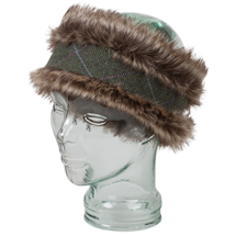 Hoggs of Fife Albany Ladies Faux Fur/Lambswool Headband