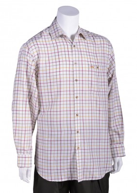 Bonart Banbury Classic Country Shirt (Burgundy)