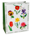 Big Letter Flowers Gift Bag