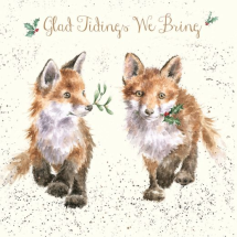 'Glad Tidings We Bring' Christmas Card