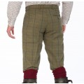 Alan Paine Rutland Tweed Breeks (Dark Moss)