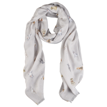 'A Dog's Life' Scarf (Wild Truffle) by Wrendale