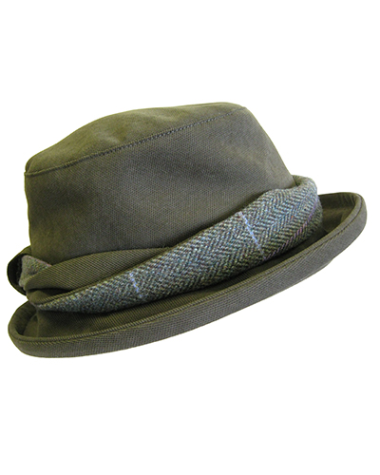 Hoggs of Fife Albany Ladies Tweed Country Hat