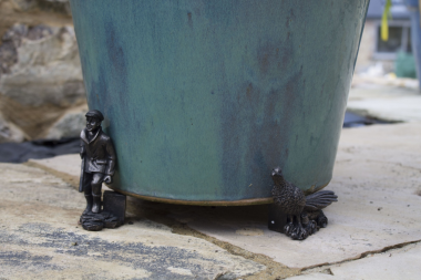 Plant Pot Feet - Shooting Scene Trio