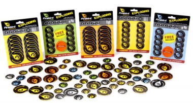 Air Flash Quiet Firebird Targets Pack of 10