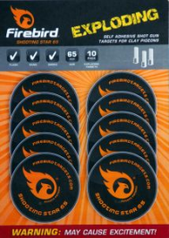 Shooting Star for Clays Firebird Tgts Pack of 10