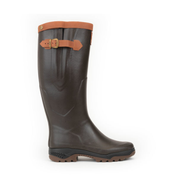 Aigle Parcours 2 Signature Wellington Boots - Standard Calf (Unisex) - Brown