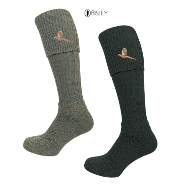 Embroidered Shooting Stocking Socks by Bisley