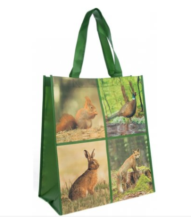 British Wildlife Shopping Bag