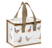 Pheasant Fabric Lunch Bag