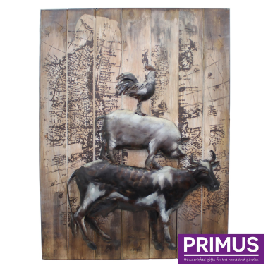 Farmyard Animals Wall Art