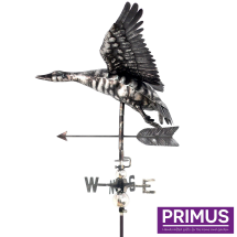 3D Flying Duck Weathervane with Garden Stake