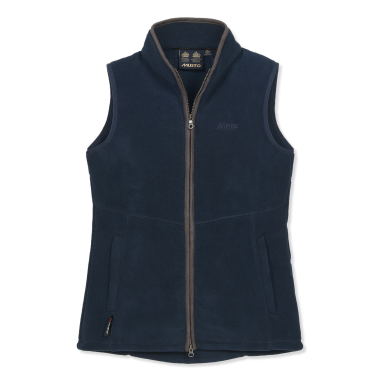 Musto Women's Glemsford Fleece Gilet-True Navy