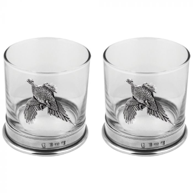 Pheasant Double Tumbler Set