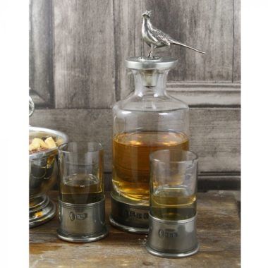 Pheasant Mini Decanter Set