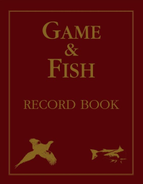 Game & Fish Record Book Hardcover – Illustrated, Large Print