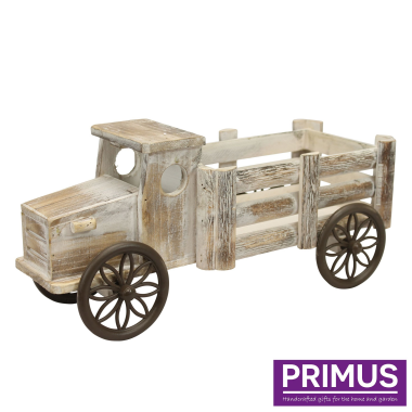 Wooden Lorry Planter