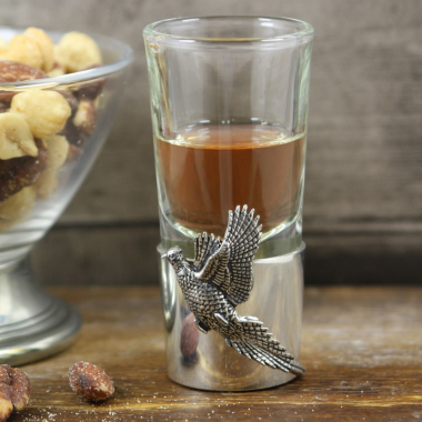 Pheasant Shot Glass