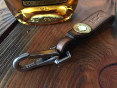J. Boult Shotgun and Leather Key Lanyard