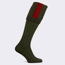 Pennine Governor Men's Shooting Sock-Hunter