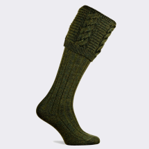 Pennine Valliant Men's Shooting Sock-Hunter