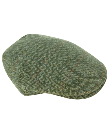 Hoggs of Fife Helmsdale Waterproof Tweed Cap