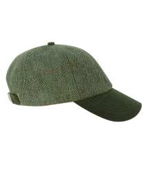 Hoggs of Fife Helmsdale Tweed Baseball Cap