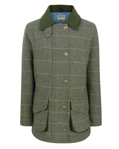Hoggs of Fife Albany Lambswool Shooting Coat