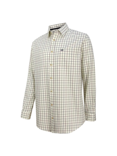 Hoggs of Fife Balmoral Luxury Tattersall Shirt