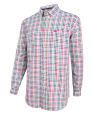 Hoggs of Fife Pure Dundas Oxford Checked Shirt