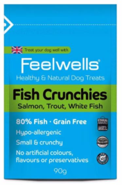 Feelwell's Fish Crunchies Healthy and Natural Dog Treats
