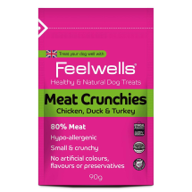 Feelwell's Meat Crunchies Healthy and Natural Dog Treats