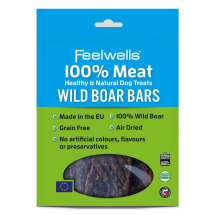 Feelwells 100% Meat Wild Boar Bars