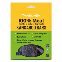 Feelwells 100% Meat Kangaroo Bars