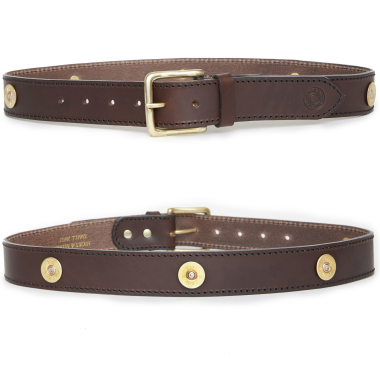Hicks and Hides Campden Multi Farmer Belt Brown