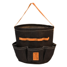 Denim Garden Tool Bag (round)