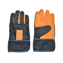 Denim Garden Gloves (short)