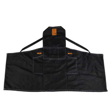 Denim Cross Back Garden Apron