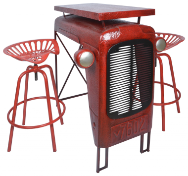 Tractor Table-Red