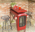 Tractor Stool-Red