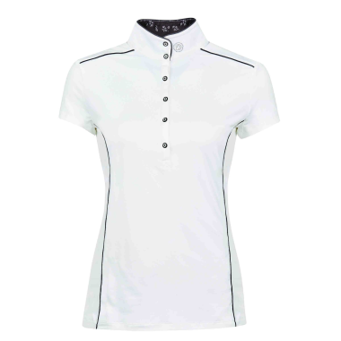 DUBLIN SADIE SHORT SLEEVE COMPETITION SHIRT-WHITE