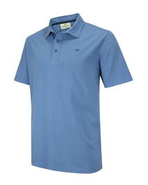 Crail Jersey Poloshirt-Dutch Blue