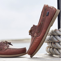 The Deck Lady II G2 Boat Shoes-Chestnut