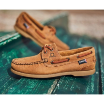 The Deck Lady II G2 Boat Shoes-Walnut