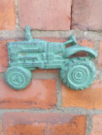 Wall Mounted Cast Iron Tractor Bottle Opener