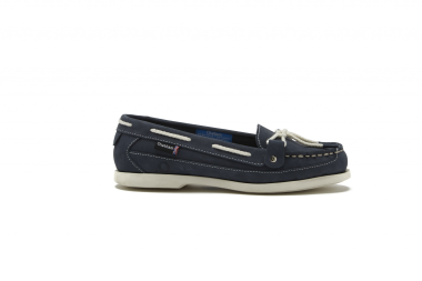 Alcyone G2 Slip On Deck Shoes-Navy